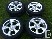 Brand new rims and tires low profile never been driven