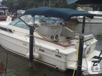 !983 SeaRay Sundancer, Boat has twin 5.7L Mercruisers,