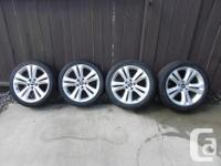 For sale 4 Hyundai Genesis OEM rims with Bridgestone