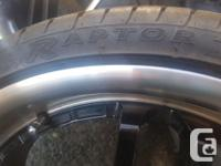 The Mags and Tires are in great condition. Tires are