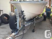18' Hourston Glasscraft with full cabin and alaskan