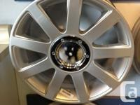 BRAND NEW!!!!!!!!!!       Replica Audi Wheel Special  -