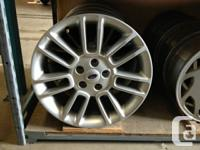 "Used 18"" 5/4.5 Ford Flex Wheels  - They Came off a 2013"