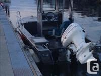 Great Fishing boat with downrigger,gps, and rods, 2005