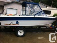 Great ocean fishing boat with many upgrades. The power