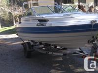 1990 Campion Allante 18.6ft. 150 HP Mariner Outboard /