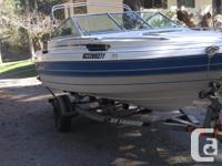 Comes with 150 HP Mariner Outboard, Honda 7.5 HP