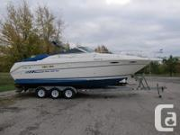1992 Sea Ray 300 Sundancer 11 feet beam Twin 350 mercs
