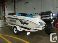18.8 Seaswirl Spyder bowrider for sale. 200 HP Johnson