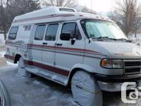 1997 Pleasureway Camper Van.Only 93,000 kilometer (56K
