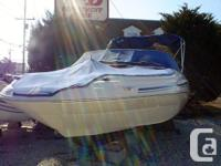 Nice, clean boat powered with a 5.0L MPI. Has a bow,
