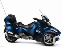 2010 Can-Am Spyder RT-S SM5 complete with LED