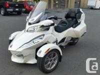 2011 Can-Am Spyder RT Limited with no miles( under