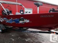 2011 Lund 1725 Rebel TLR $18,999.00 Boat Length: