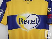 Becel Ride for Heart Cycling Jersey June 2 2013 Size XL