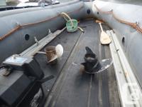 Rare find! Ex Eco Guide boat. Super tough Hypalon