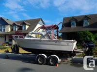 181/2 K & C Thermoglass runabout in very good