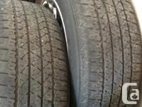 Car gone, Wheels with tires left to sell. Came off a