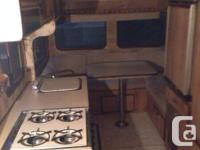 GREAT 18 foot 1986 5th wheel, fridge, heater, 3 piece