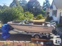 Early 80's deep V hull boat with 140 hp 2 stoke