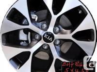 """Selling 4 Kia wheels, Bolt pattern 5x114.3mm or 5x4.5"""""""