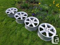Selling a spare set of 18x8 +30 OEM Nissan 350Z Touring