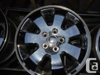 "18"" Jeep Grand Cherokee Chrome Clad Rims +TPMS"