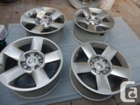 "18"" Nissan Titan, FRONTIER, ARMANDA stock RIMS + TPMS."