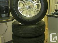 """18"""" Ram 1 Ton take offs, rims and tires, on sale for"""