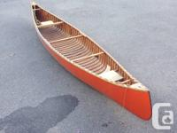 This is a large tripping canoe.  Some would call it a