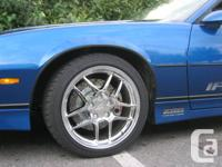 Used, Wheels are currently on my camaro and have less than for sale  British Columbia
