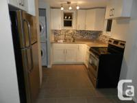 Come see this beautifully renovated second floor large,