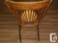 Antique Push-back Rocking Chair Antique solid Walnut