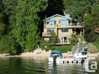 A very personal Waterfront residence with suite below