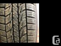 P185/65R15. Tires with only 600 Klm�s I am in Alberton,