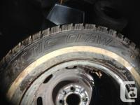 185/75/14 Snow Tires on 97 jetta rims  a pair of tires