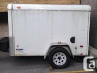 Available for sale is a 5x8 united freight trailer.