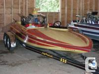 468 cubic inch - 700 horse power - turn key boat