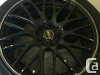 I have four 235/40r18 toyo extensa hp tires in