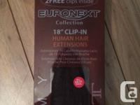 I bought I brand new pair of Euronext remy human hair