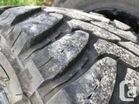 Wheels - Ultra Crusher 18x9 5 Bolt (set of 4) Tires -