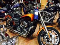 On our showroom floor!The new Harley-Davidson Dyna Low