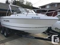 This boat is a 2008 purchased new in 2010 one owner
