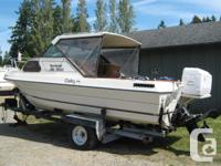 19 1/2 ft Beachcraft boat with cuddy Completely rebuilt