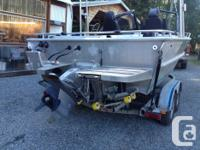 late 90's Armstrong Marine welded bowrider,this is a
