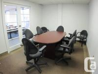 We have a boardroom of around 150 square feet offered