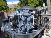 Heavy duty work boat, stable platform for diving,