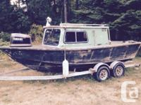 No motor or controls just boat and trailer If it's not