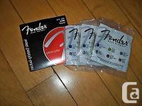 (03)Fender nickel-plated steel electric guitar strings
