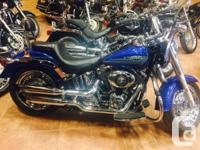 On our showroom floor!The 2012 Harley-Davidson Softail